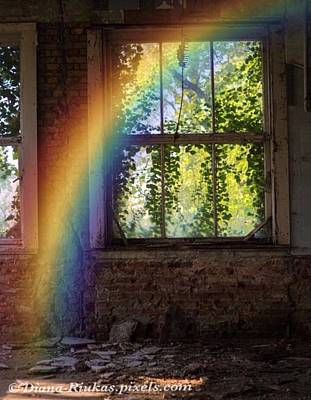 Digital Art - Rainbow Of Hope by Diana Riukas