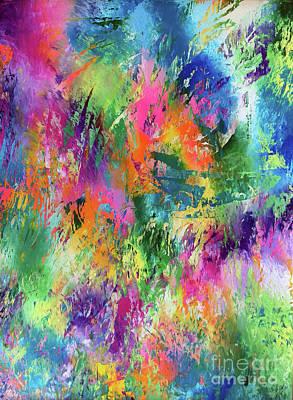 Rainbow Of Life Art Print by Jo Ann Bossems