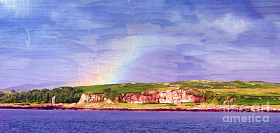 Photograph - Rainbow On The Coast by Judi Bagwell