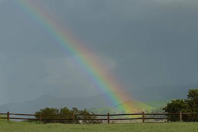 Photograph - Rainbow On Valhalla Dr. by Paul Johnson