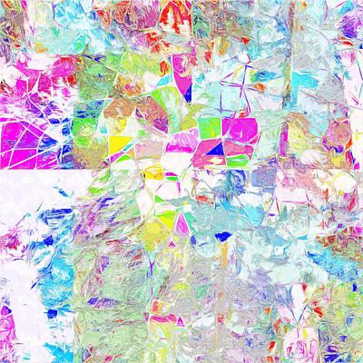 Digital Art - Rainbow One by Payet Emmanuel