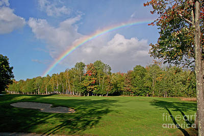 Photograph - Rainbow Over # 6 by Butch Lombardi