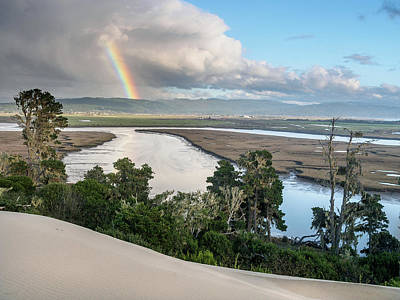 Photograph - Rainbow Over Arcata by Greg Nyquist