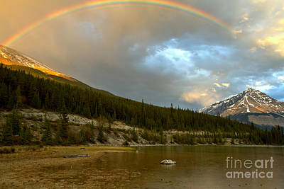 Photograph - Rainbow Over Beauty Creek by Adam Jewell