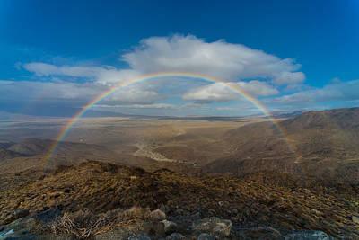 Rainbow Over Borrego Springs Art Print