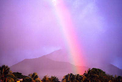 Thomas R. Fletcher Photograph - Rainbow Over Dominica by Thomas R Fletcher