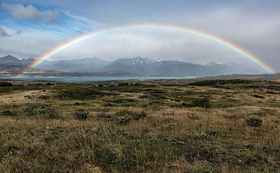 Photograph - Rainbow Over Lago Toro by Stuart Gordon