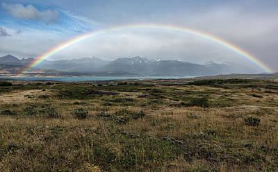 Photograph - Rainbow Over Lago Toro by Stuart Gordon