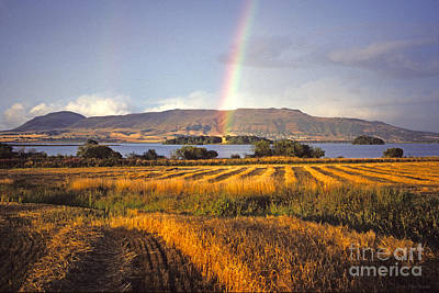 Photograph - Rainbow Over Loch Leven  by Phil Banks