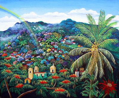 Painting - Rainbow Over Matagalpa by Sarah Hornsby