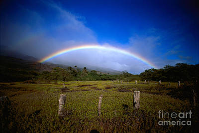 Photograph - Rainbow Over Molokai by Allan Seiden - Printscapes