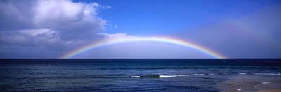Photograph - Rainbow Over Ocean by Bill Schildge - Printscapes