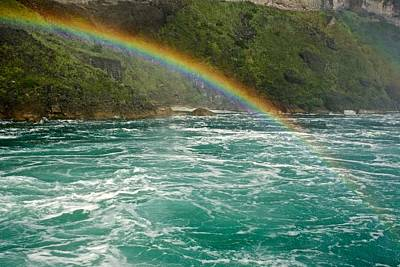 Photograph - Rainbow Over Rapids by Kathi Isserman