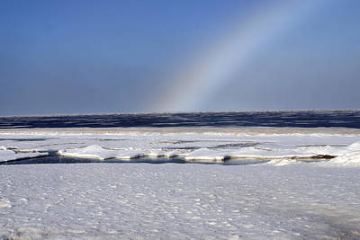 Photograph - Rainbow Over The Arctic by Anthony Jones
