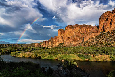 Photograph - Rainbow Over The Bulldogs  by Saija Lehtonen