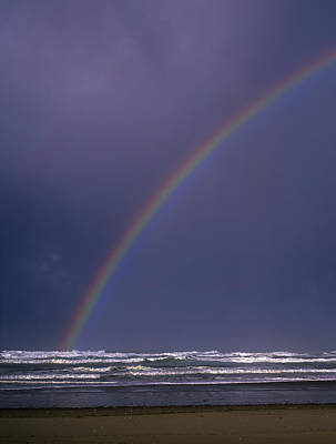 Photograph - Rainbow Over The Surf by Robert Potts