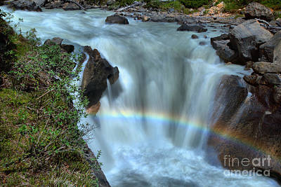 Photograph - Rainbow Over The Yoho by Adam Jewell