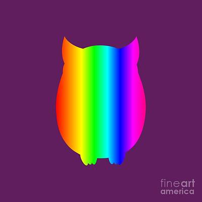 Granger - Rainbow Owl by Frederick Holiday