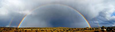 Photograph - Rainbow Panorama by Mary Lee Dereske