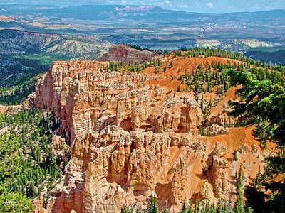Photograph - Rainbow Point In Bryce Canyon National Park, Utah by Ruth Hager