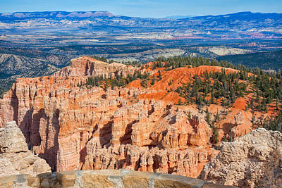 Photograph - Rainbow Point Panorama by John M Bailey