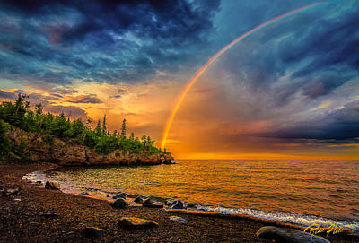 Photograph - Rainbow Point by Rikk Flohr