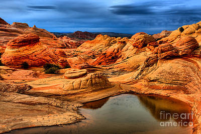 Rainbow Pool At Coyote Buttes Art Print