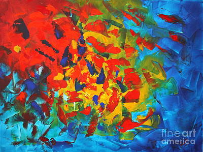 Painting - Rainbow by Preethi Mathialagan