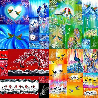 Rainbow Prints Art Print