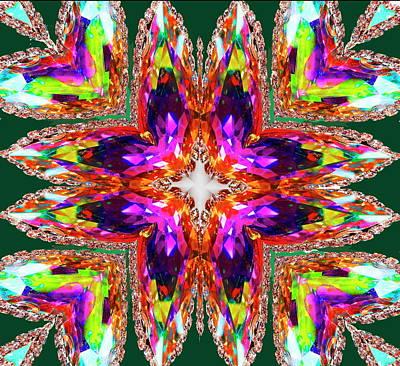 Mixed Media - Rainbow Quartz 1 by Jesus Nicolas Castanon