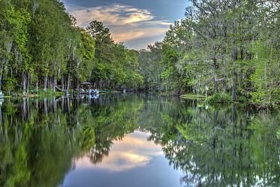 Dunnellon Photograph - Rainbow River by Wioletta Pietrzak