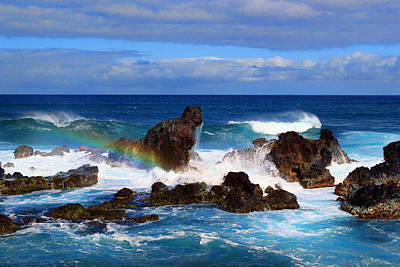 Photograph - Rainbow Rocks by John Bushnell