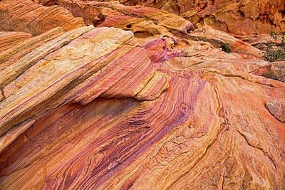 Photograph - Rainbow Rocks by Kristia Adams