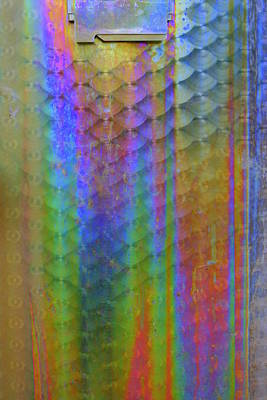 Rainbow Rust Print by Julie Lueders