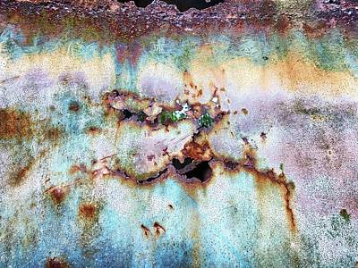 Photograph - Rainbow Rust by Karen Stahlros