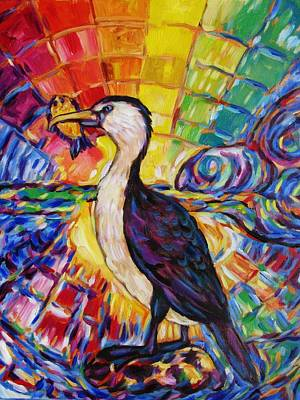 Painting - Rainbow Shag O Licious  by Dianne  Connolly