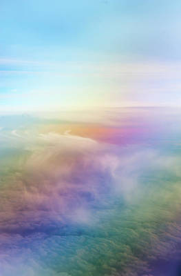 Photograph - Rainbow Sky by Jenny Rainbow