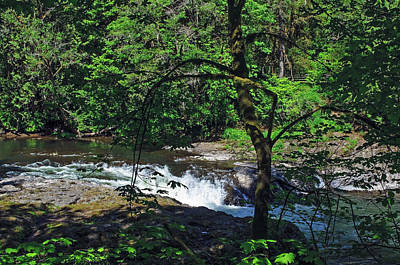 Photograph - Rainbow State Park Falls by Tikvah's Hope