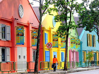 Photograph - Rainbow Street by Ranjini Kandasamy