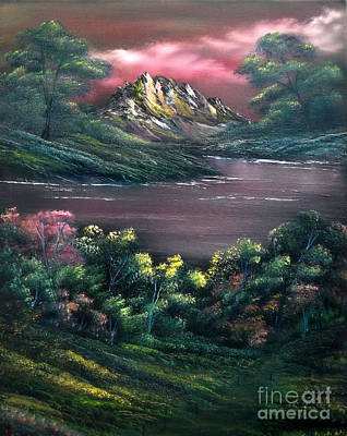 Painting - Rainbow Valley by Cynthia Adams