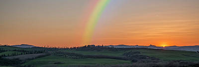 Photograph - Rainbow Valley-panorama by Ericamaxine Price