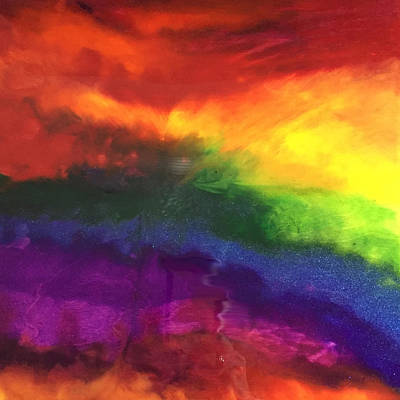 Painting - Rainbow Veins by Susi Schuele
