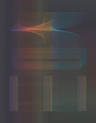 Digital Art - Rainbow Vent by Kevin McLaughlin