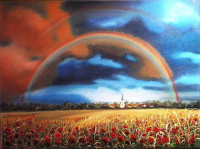 Painting - Rainbow by Vesna Martinjak