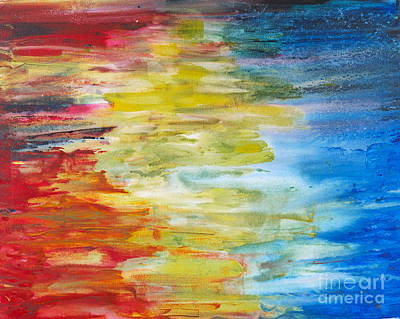 Painting - Rainbow by Walt Brodis