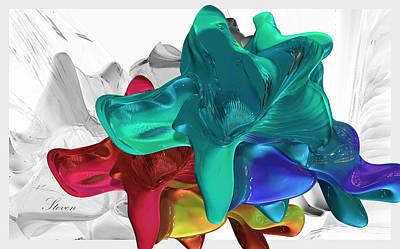 Rainbowing Art Print