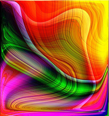 Digital Art - Rainbowland 2 by Iris Gelbart