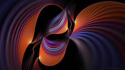 Digital Art - Rainbows Echo by Doug Morgan