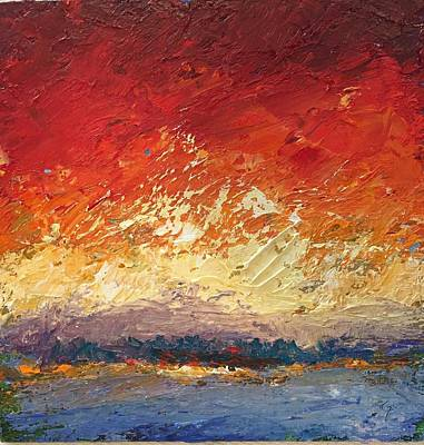 Painting - Rainbow's Edge by Shannon Grissom