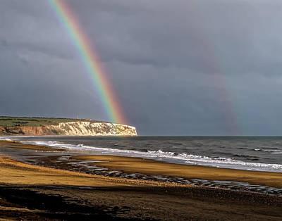 Rain Digital Art - Rainbows End by Martin Wall